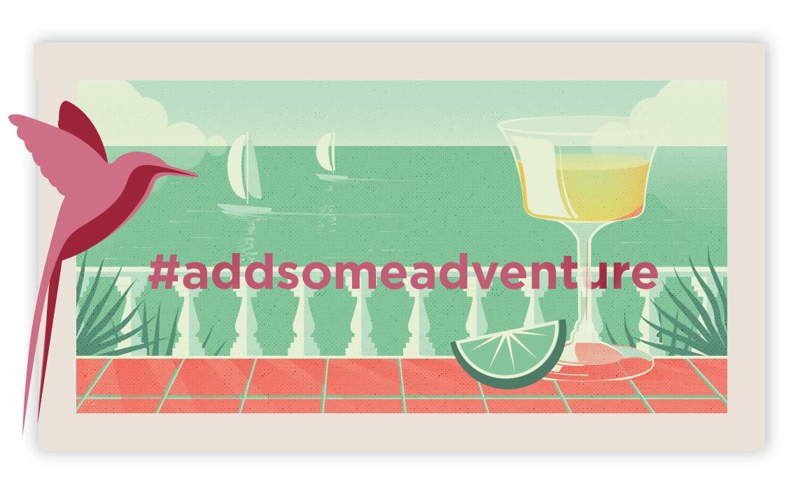 #addsomeadventure